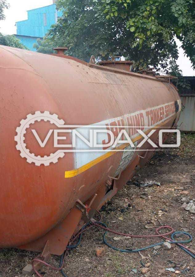 Jay Hind Tanker MS Storage Tank - 20 KL