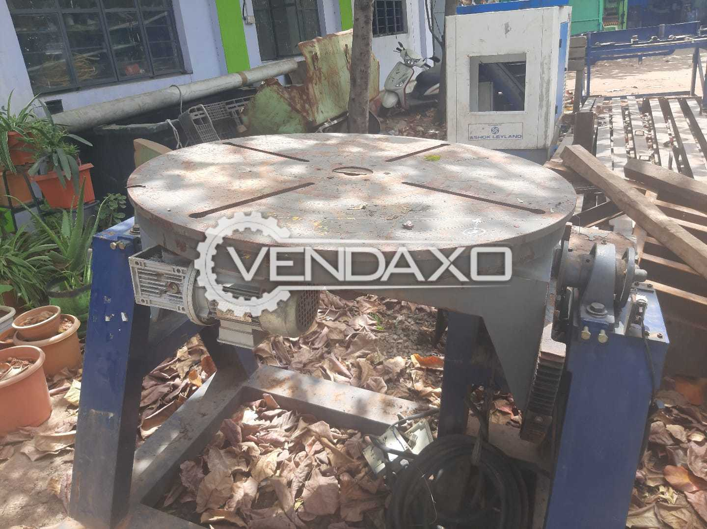 Welding Positioner Rotating Table - 1000 mm