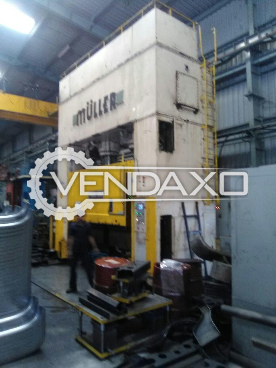 Muller Press Brake Machine- 1000 Ton