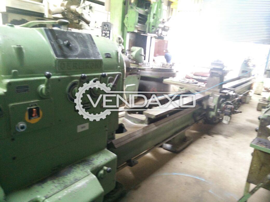 Oerlikon Geared Lathe Machine - 6.5 Meter x 515 mm