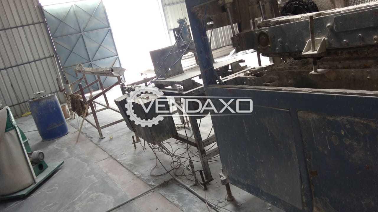 Windsor KTS 170 PVC Pipe Extrusion Line - 170 KG Per Hour, 2010 Model