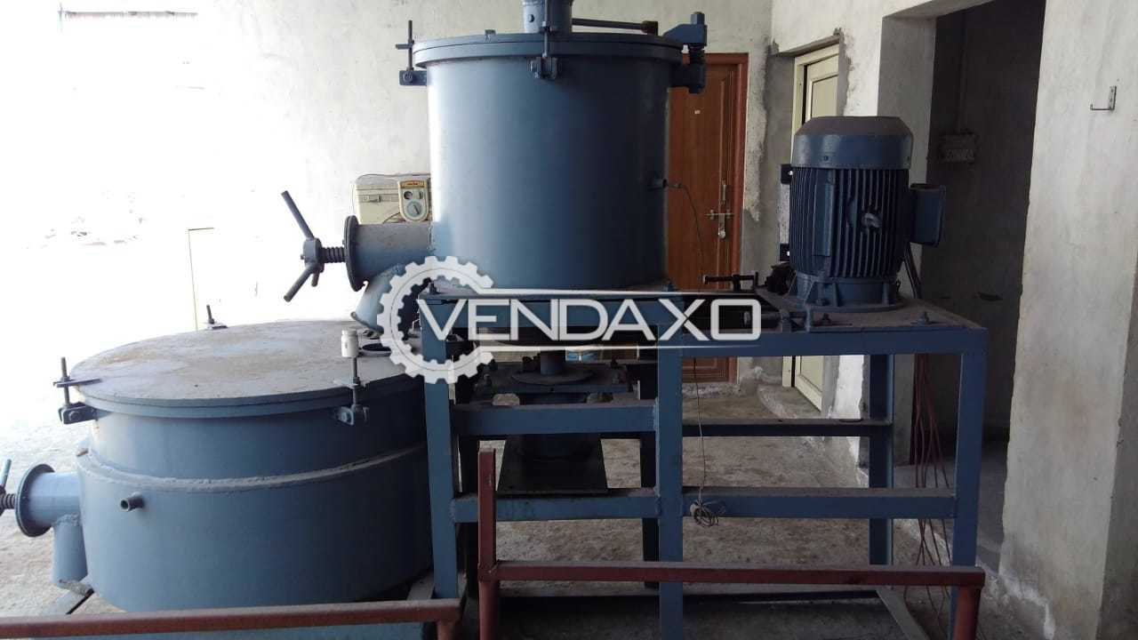 SS Engineers Hot & Cold Vertical Mixer Machine for Compound Mixing - 100 KG Per Hour, 2020 Model
