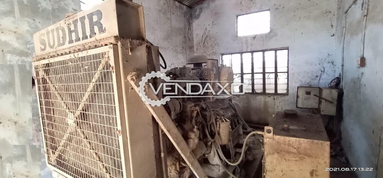 Sudhir NTG 495G Diesel Generator - 125 Kva, 2000 Model