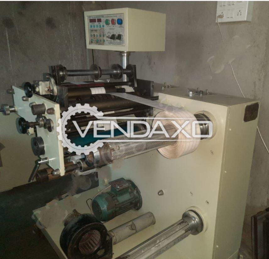 Chinese Label Slitting Machine - Size - 320 mm