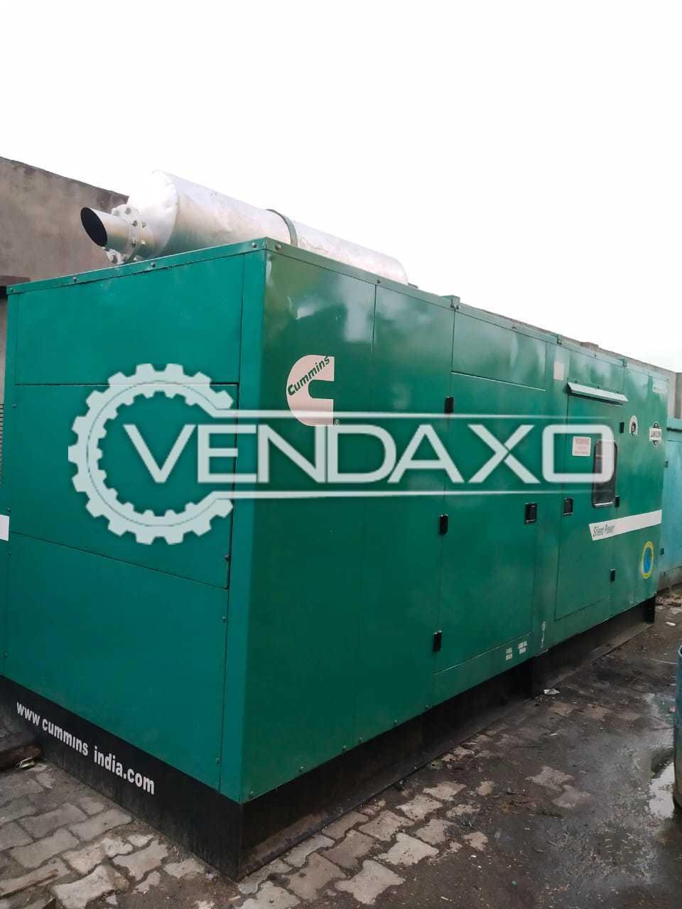 Cummins Jakson CJ250D5P Diesel Generator - 250 Kva, 2008 Model
