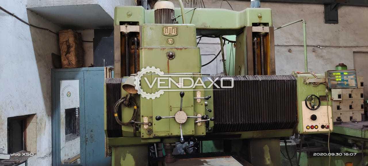 WMW Jig Boring Machine - 1500 x 1000 x 800 mm