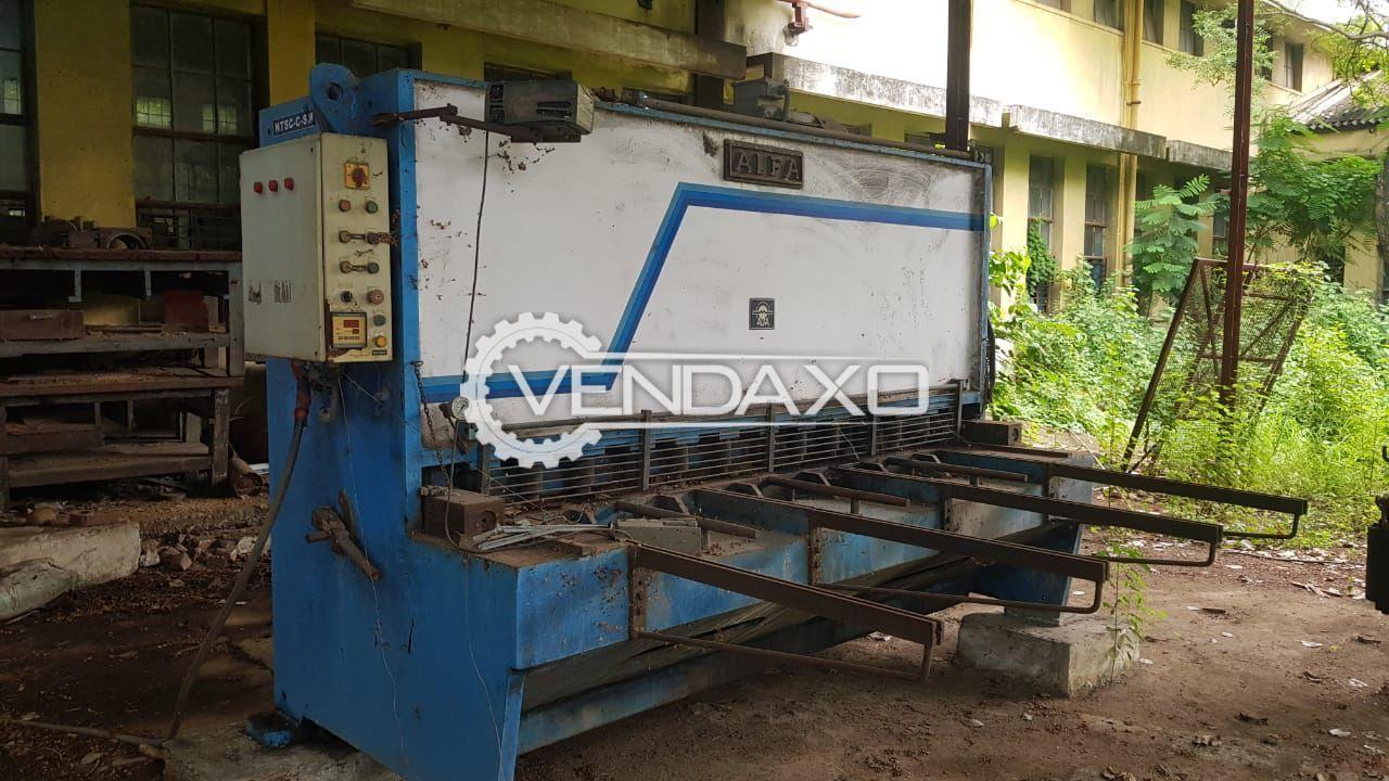 ALFA Hydraulic Shearing Machine - 2500 x 12 mm