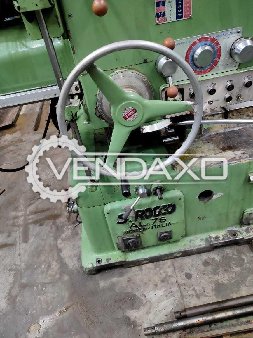 S.Rocco AL76 Boring Machine - Spindle Diameter - 80 mm