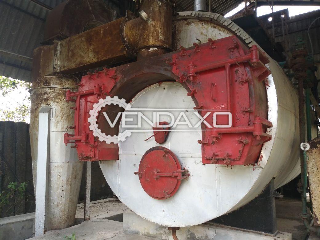 Thermodyne Wood Fired Steam Boiler