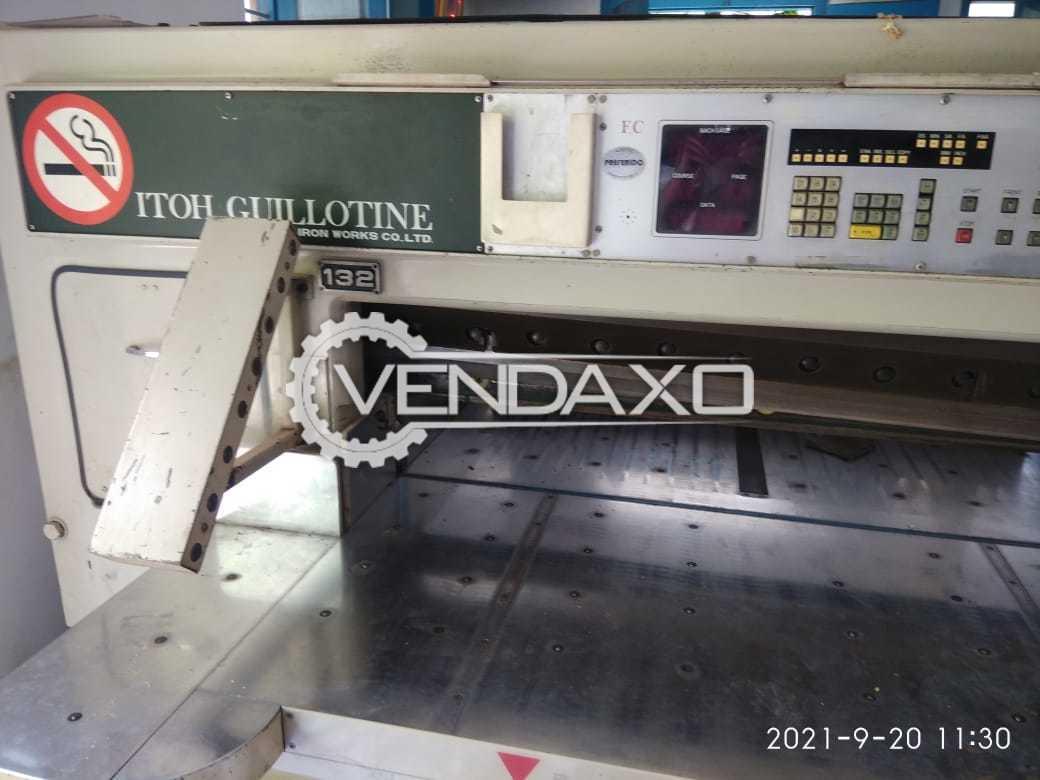 ITOH FC132 Paper Cutting Machine - 52 Inch