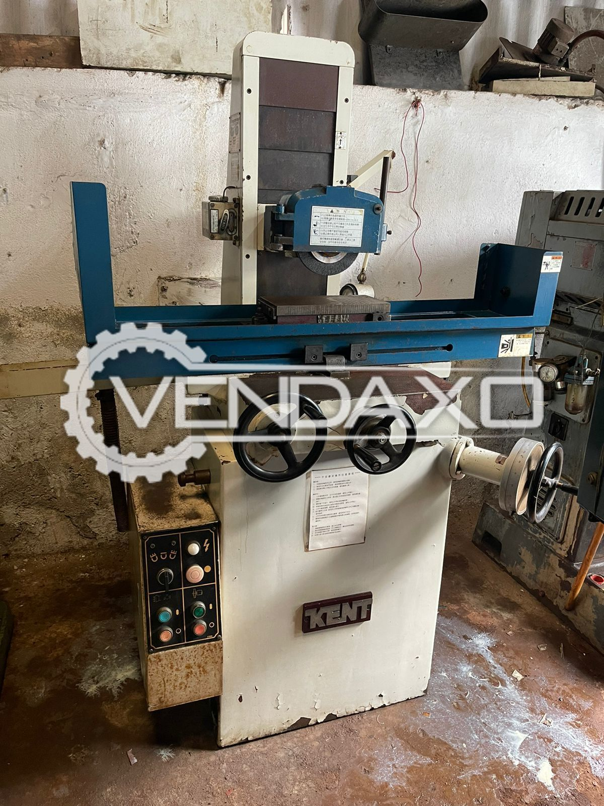 Kent Manual Surface Grinding Machine - Table Size - 150 x 300 mm