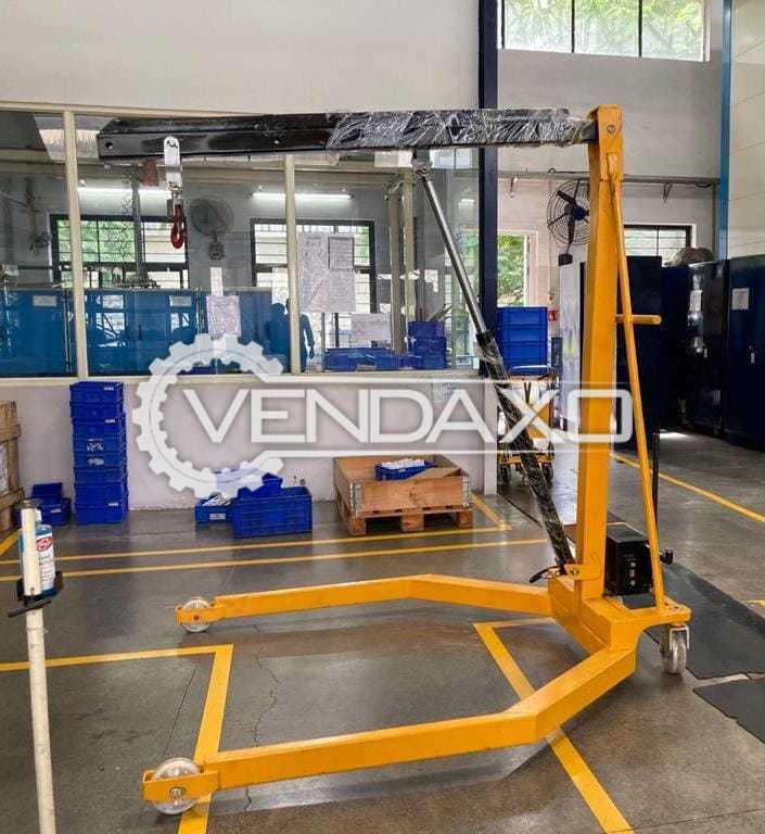 ZX FCM3550 Manual Floor Crane - 500 KG, 2021 Model