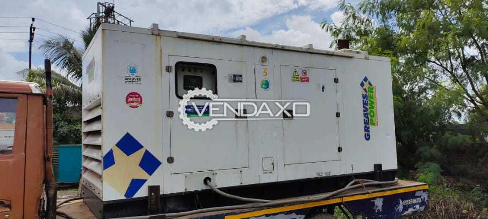 Greaves Cotton 6G11TAG29 Diesel Generator - 200 Kva, 2018 Model