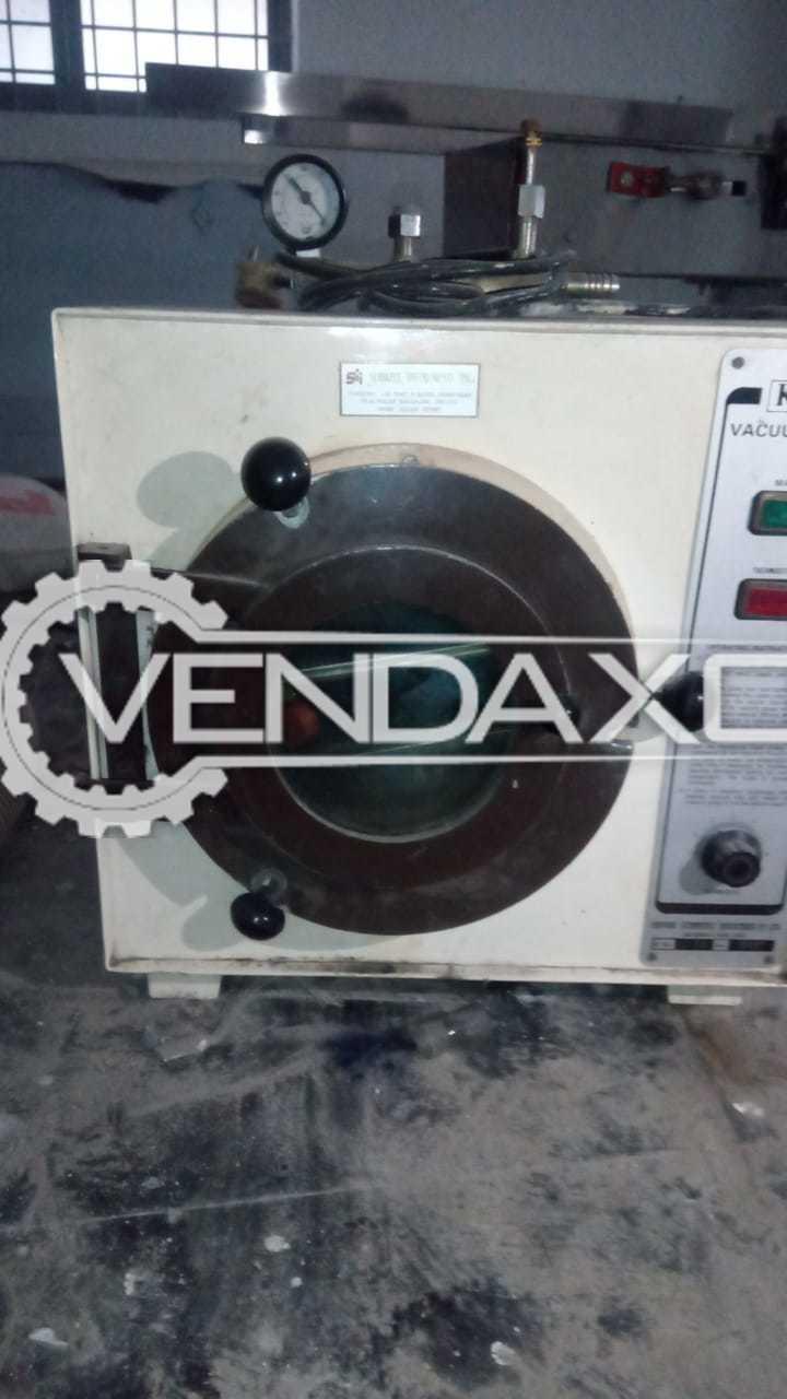 Servimec Vacuum Oven - 2012 Model