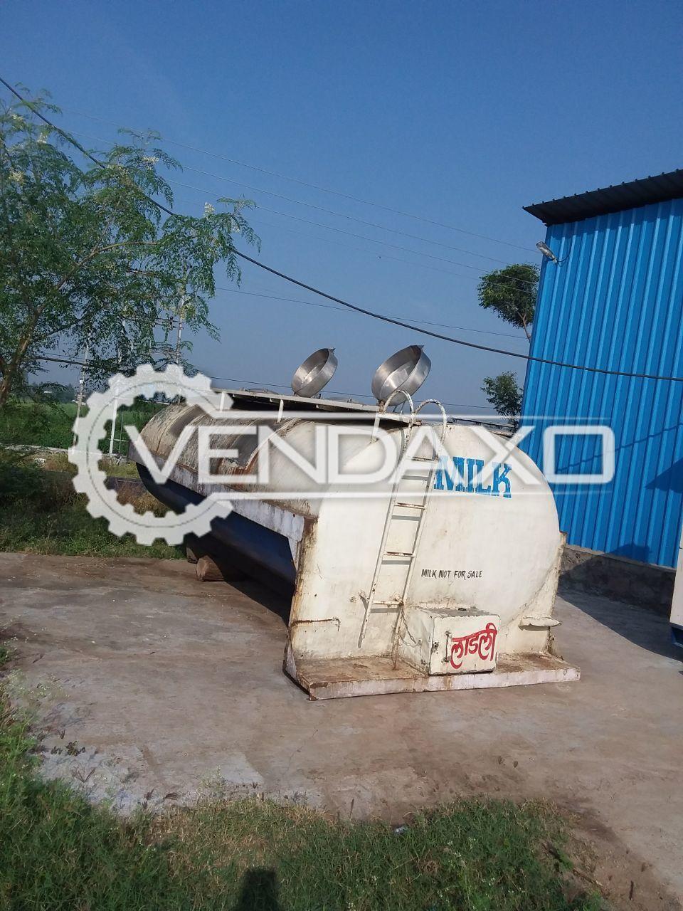 Milk Storage Tank- 10,000 Liter
