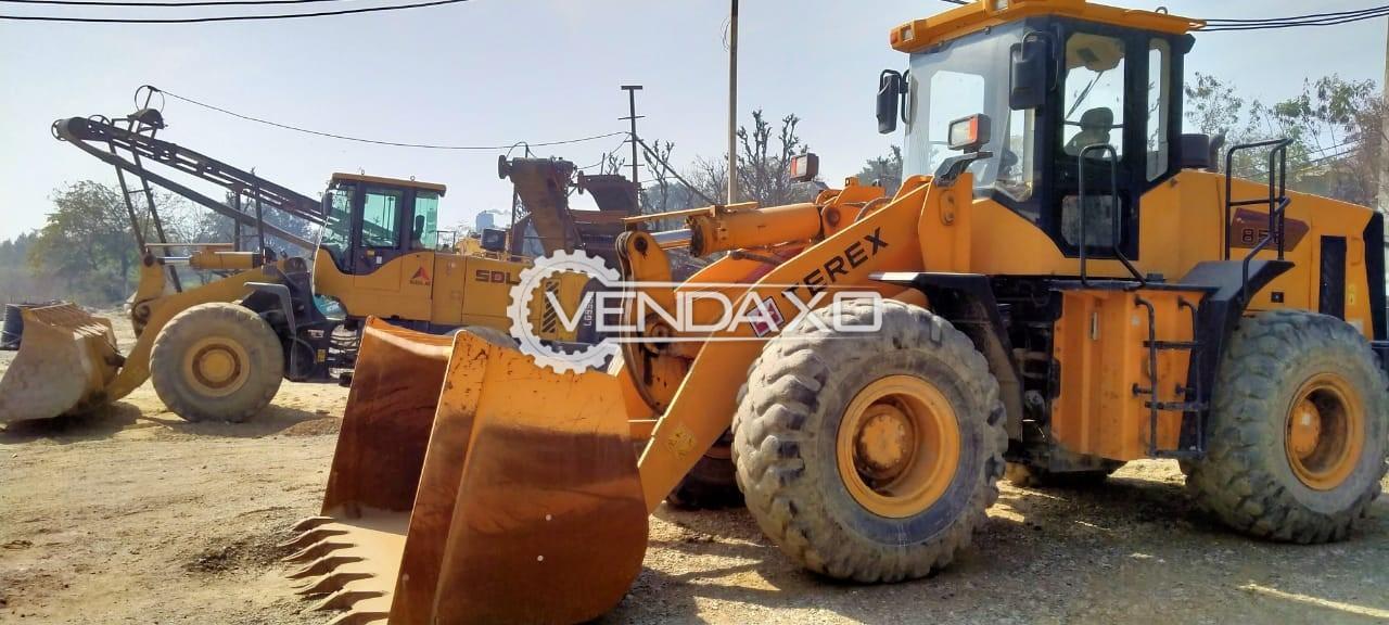 Terex CDM856-D Wheel Loader Machine - 162 HP, 2014 Model