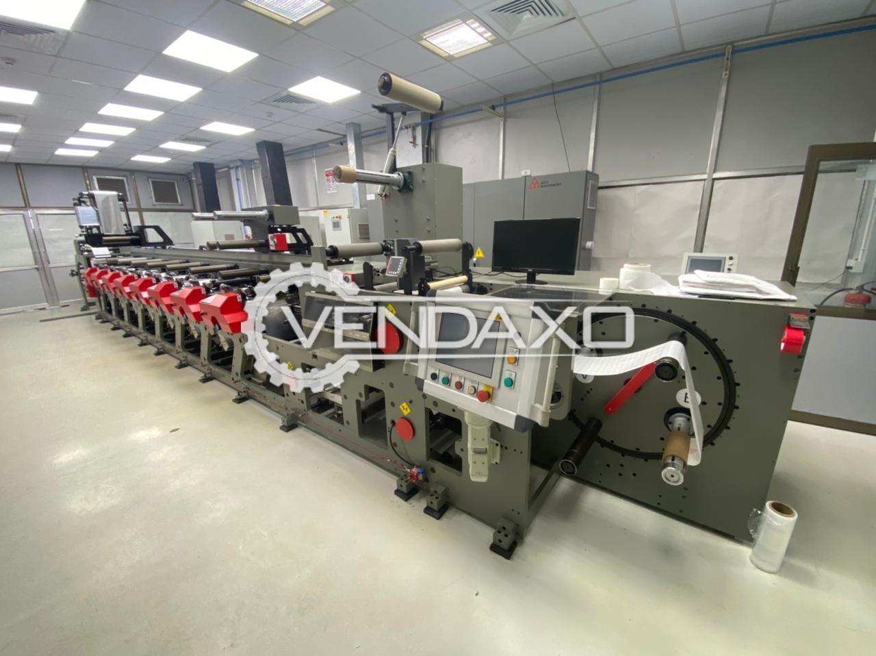 AKO Delta 330 Flexo Printing Press - 25 to 300 Microns