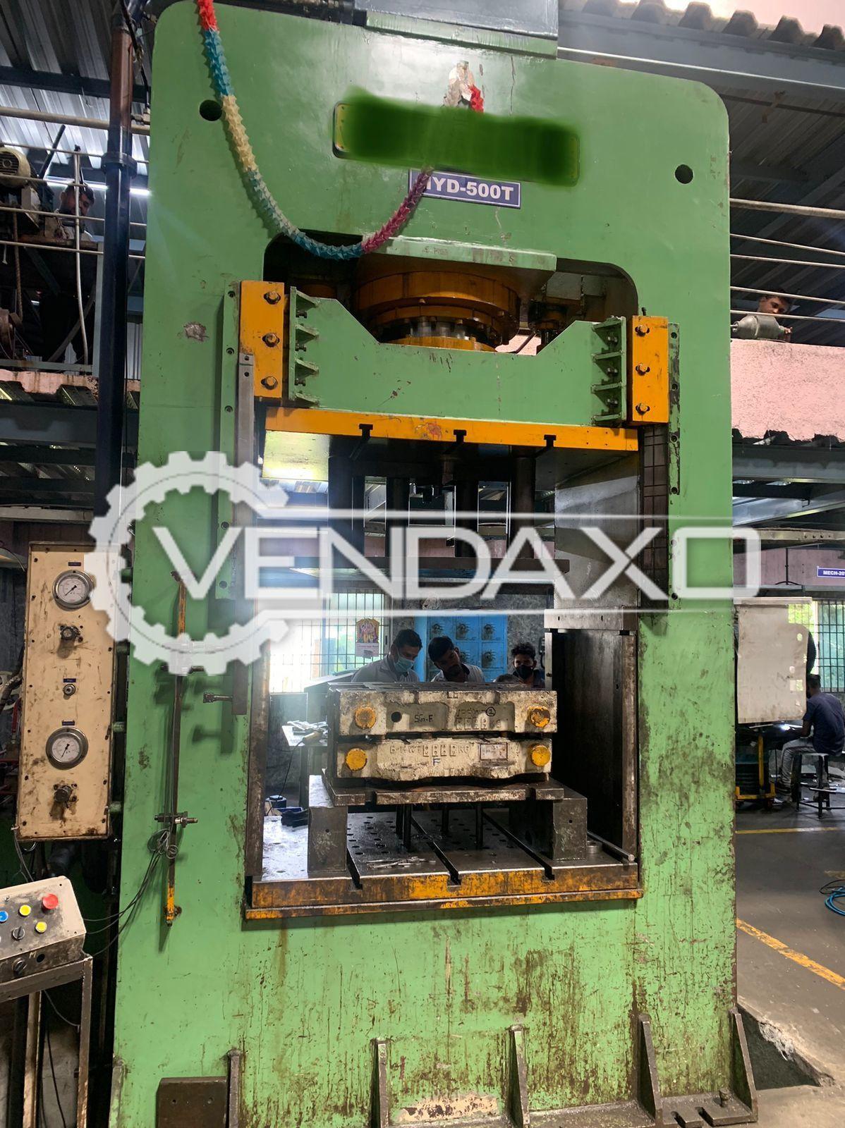 Hindustan Hydraulic Power Press Machine - 500 Ton