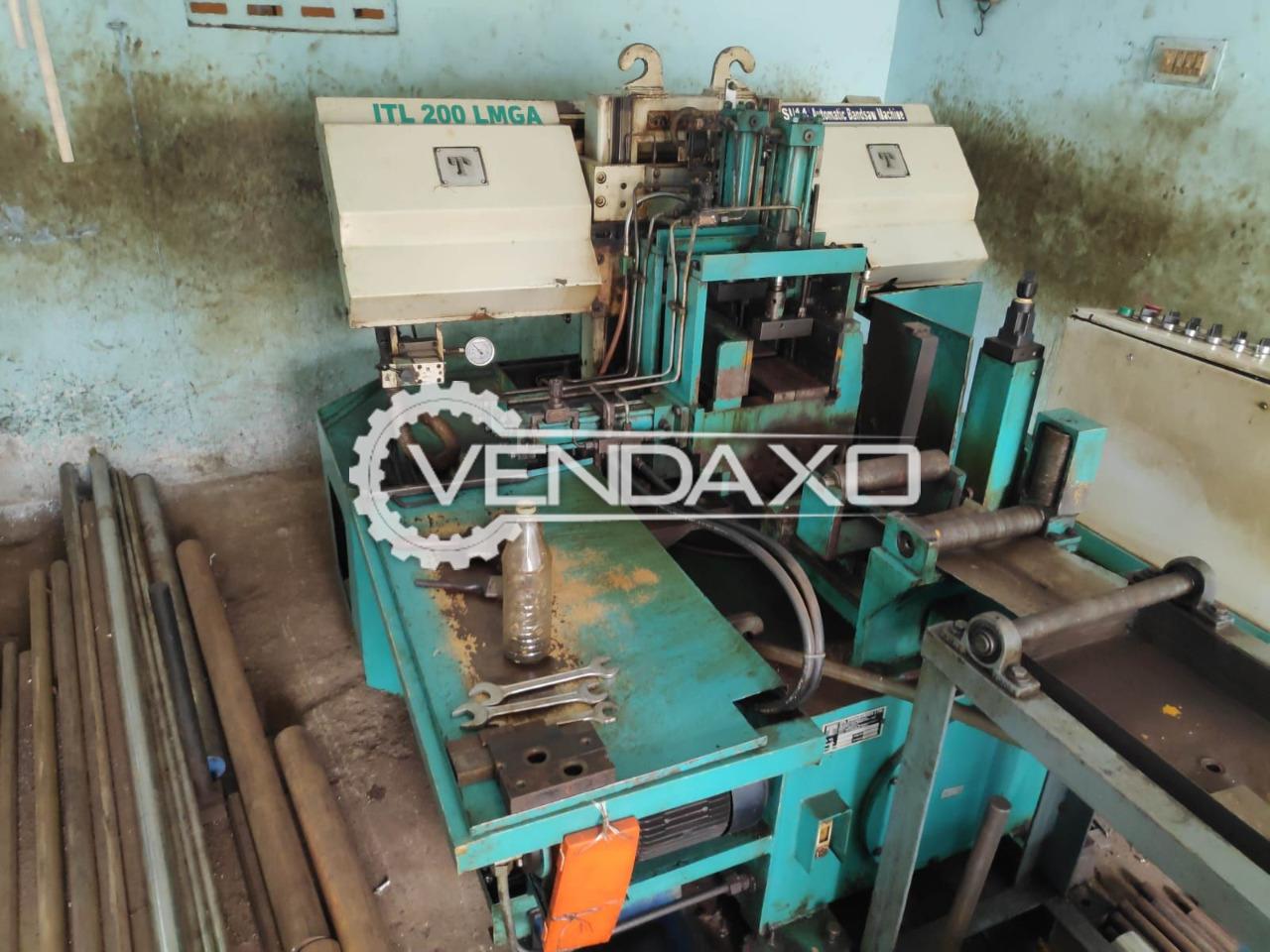 ITL 200 LMGA Bandsaw Cutter Machine - Cutting Diameter - 200 mm