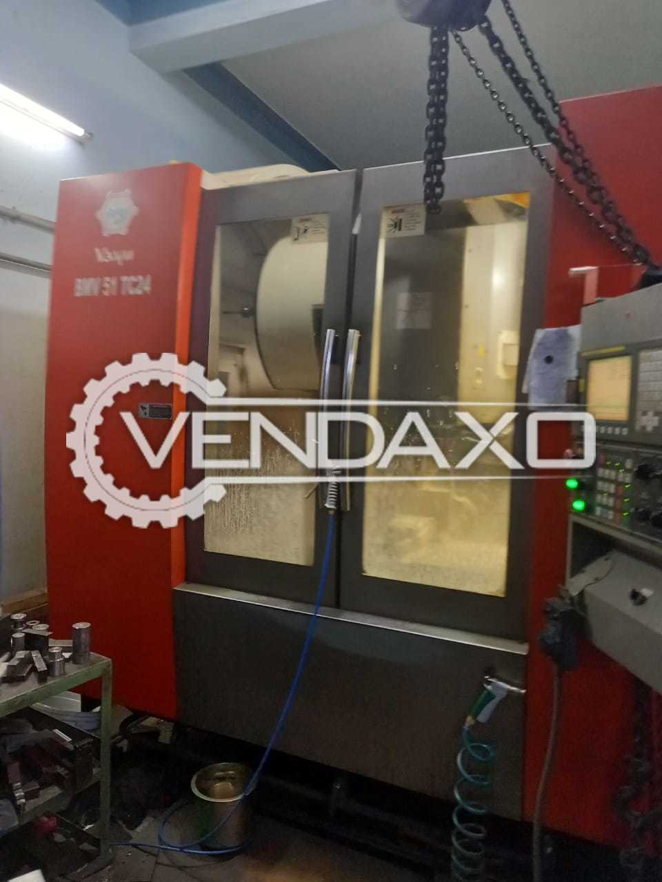 BFW Vayu BMV51 TC24 CNC Vertical Machining Center VMC - Table Size - 1200 x 550 mm