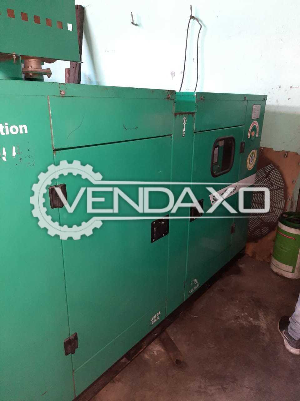 Cummins Sudhir Diesel Generator - 30 Kva, 2014 Model