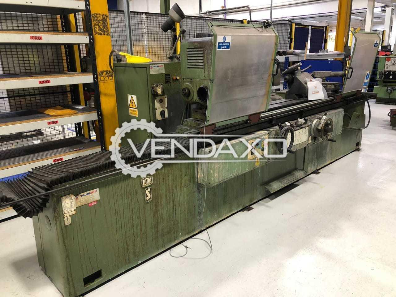WMW SA 315/II x 1500 Grinding Machine - Wheel Diameter - 800 mm