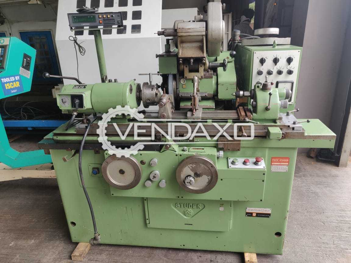 Studer RHU-500 Cylindrical Grinder Machine - Grinding Diameter - 200 mm