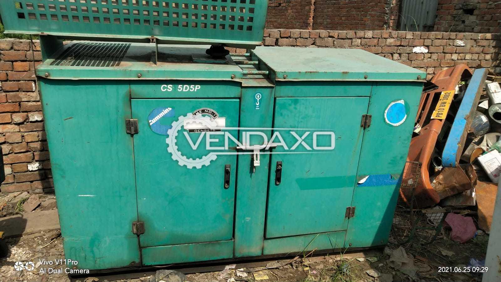 Cummins CJ25D5P Diesel Generator - 15 Kva, 2006 Model