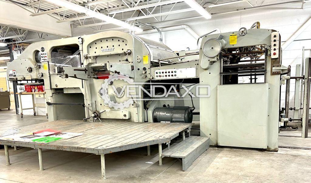 Bobst 1260 Die Cutting Machine - 36 x 50 Inch