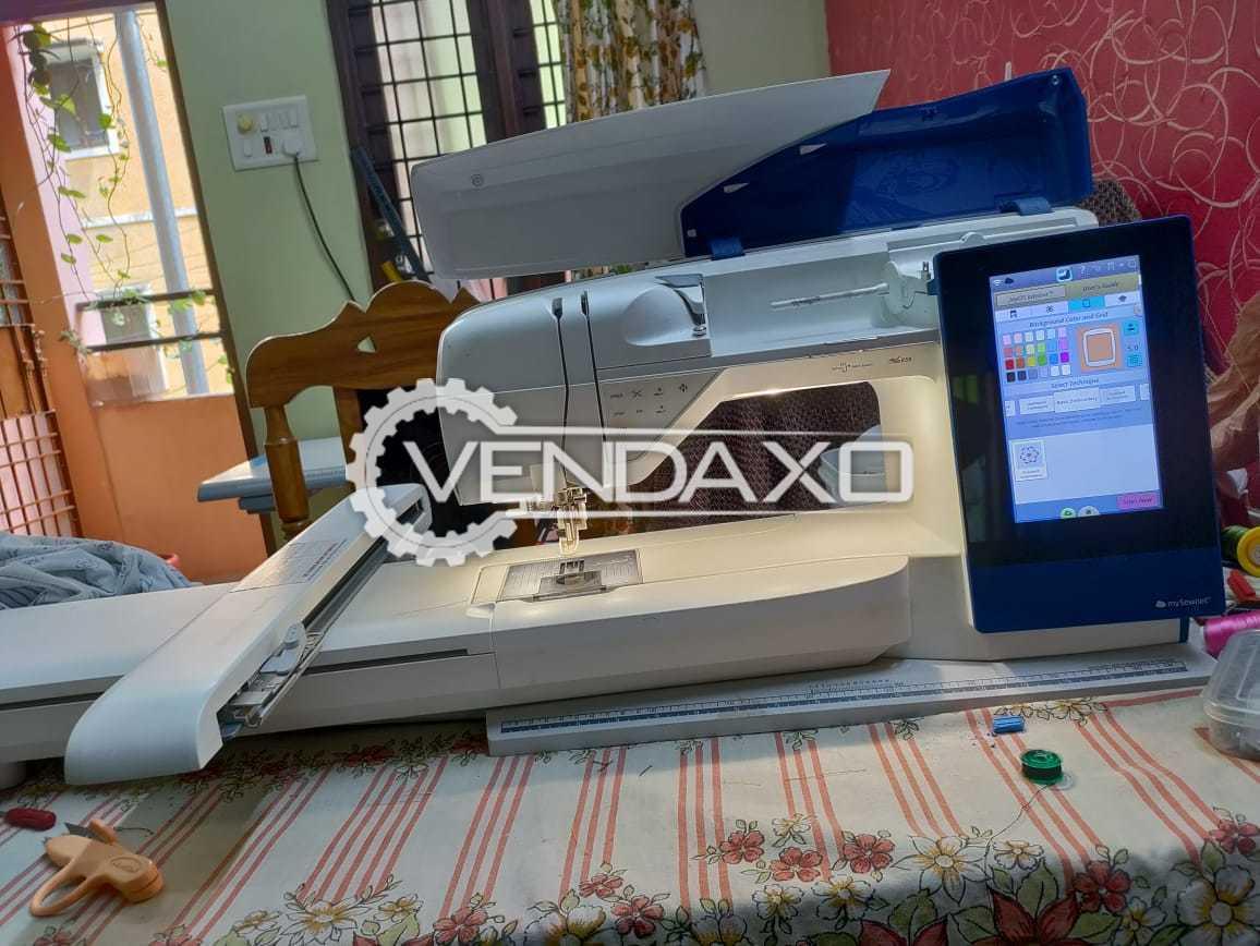 Husqvarna Viking Design Brilliance 80 Computerized Embroidery Machine - 2020 Model