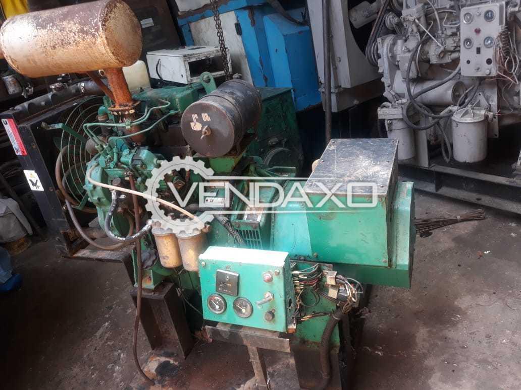 Cummins Jakson Open Diesel Generator - 15 Kva, 2005 Model
