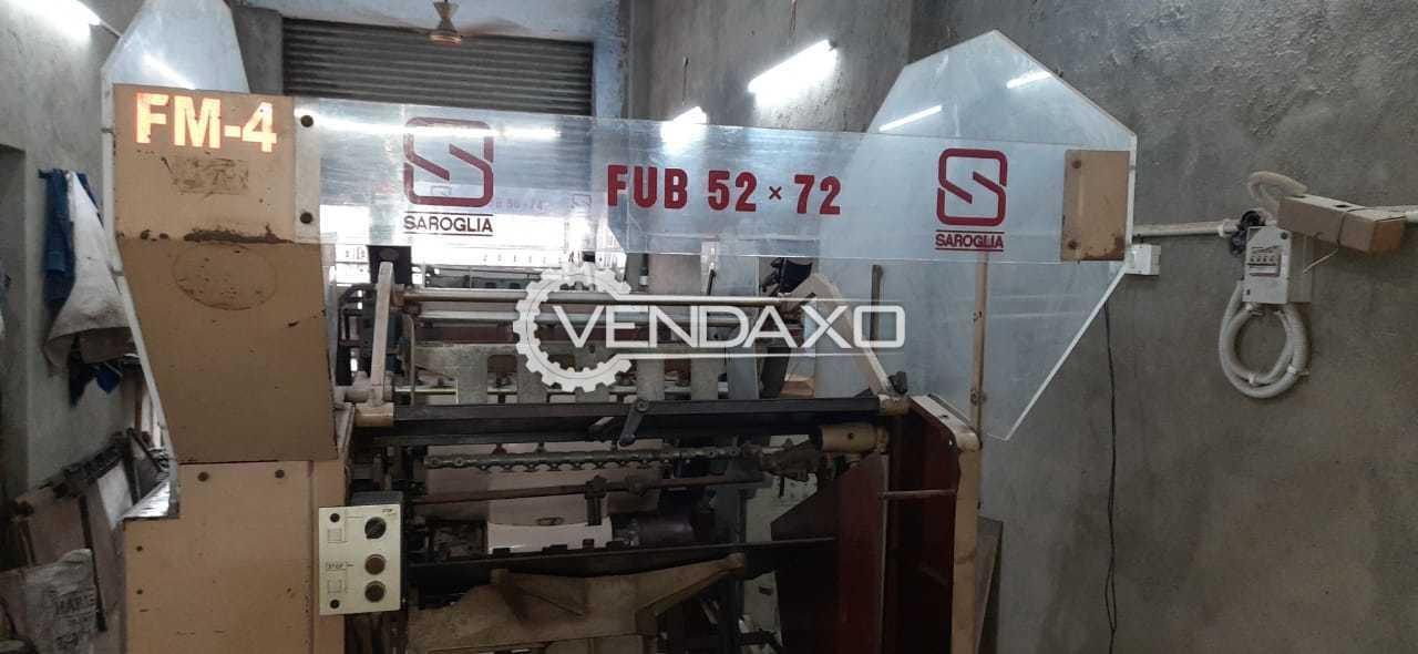 Saroglia FUB 52 x 72 Die Cutting Machine - 52 x 72 CM