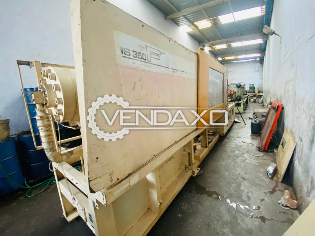 Toshiba IS350F Injection Moulding Machine - 350 Ton, 1998 Model
