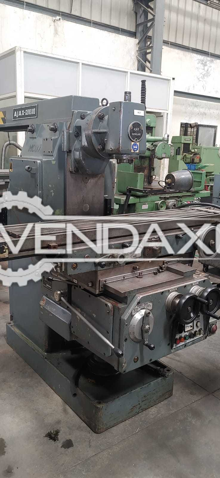 Ajax Heavy Duty Milling Machine - Universal, Gray Color