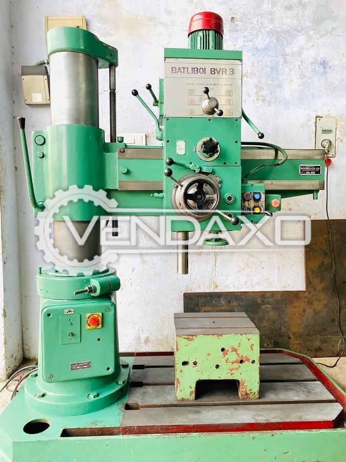 Batliboi BVR3 Radial Drill Machine - 38 mm