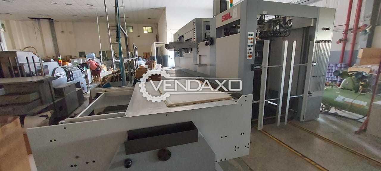 SBL 1060 SE Die Punching Machine - 760 x 1060 mm