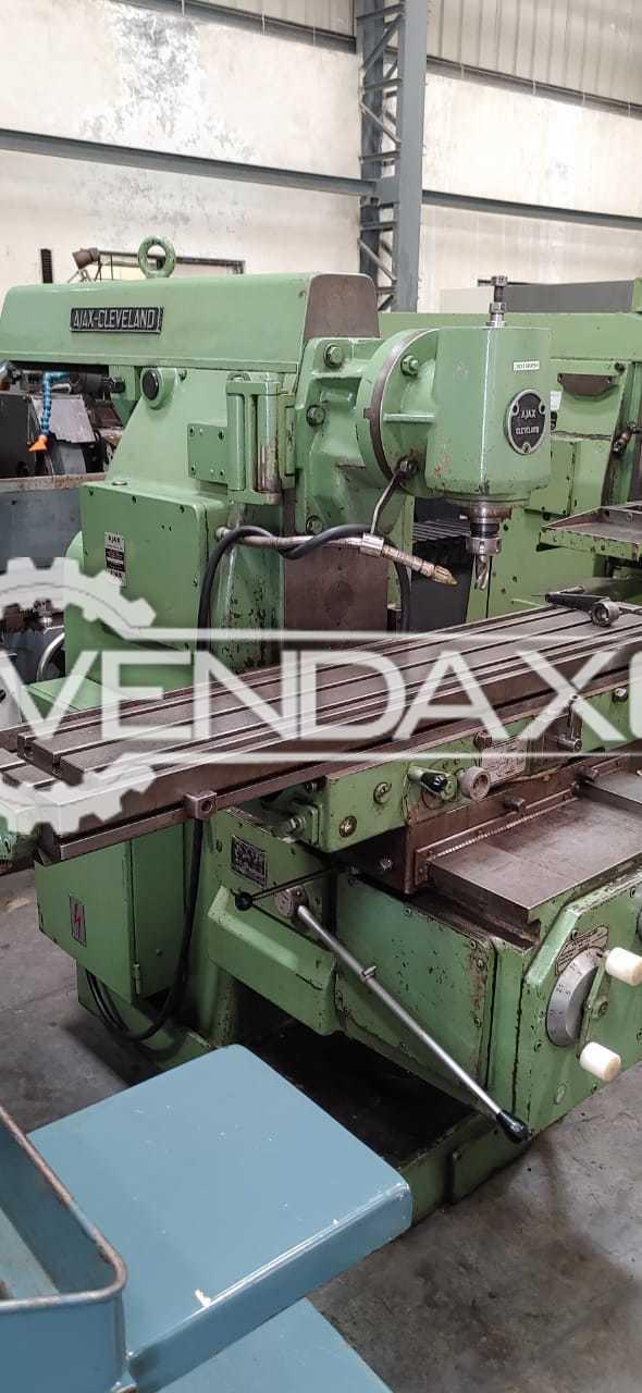 Ajax Heavy Duty Milling Machine - Universal, Green Color