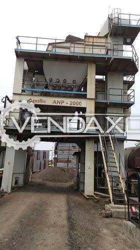 Apollo ANP 2000 Batch Type Hot Mix Plant Set - 160 Ton Per Hour, 2019 Model