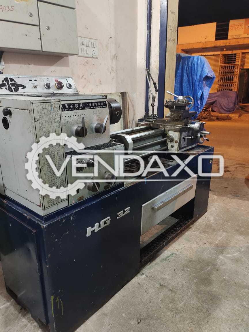 China HG32 Lathe Machine - Length - 750 mm