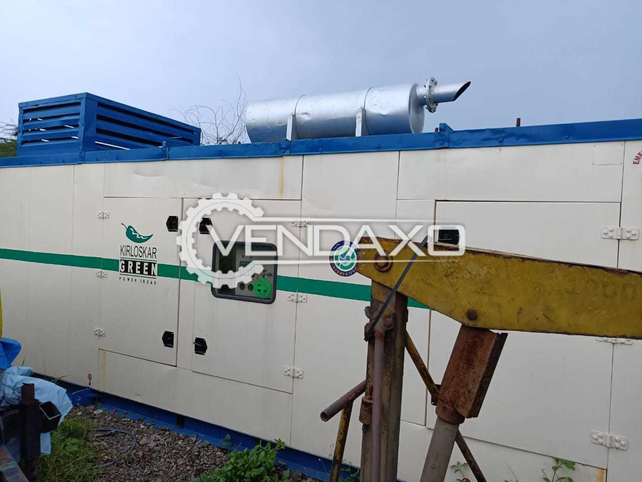 Kirloskar Diesel Generator - 250 Kva, 2005 Model