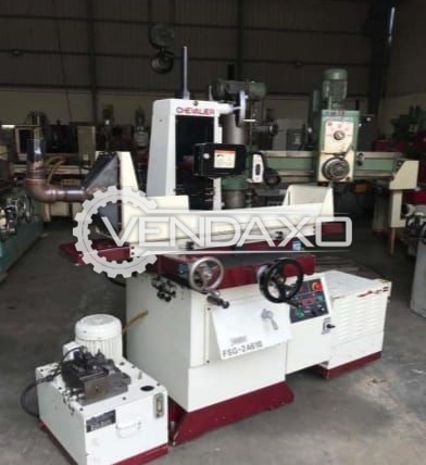 Chevalier FSG-2A618 Hydraulic Surface Grinding Machine - Magnet Size - 450 X 150 mm