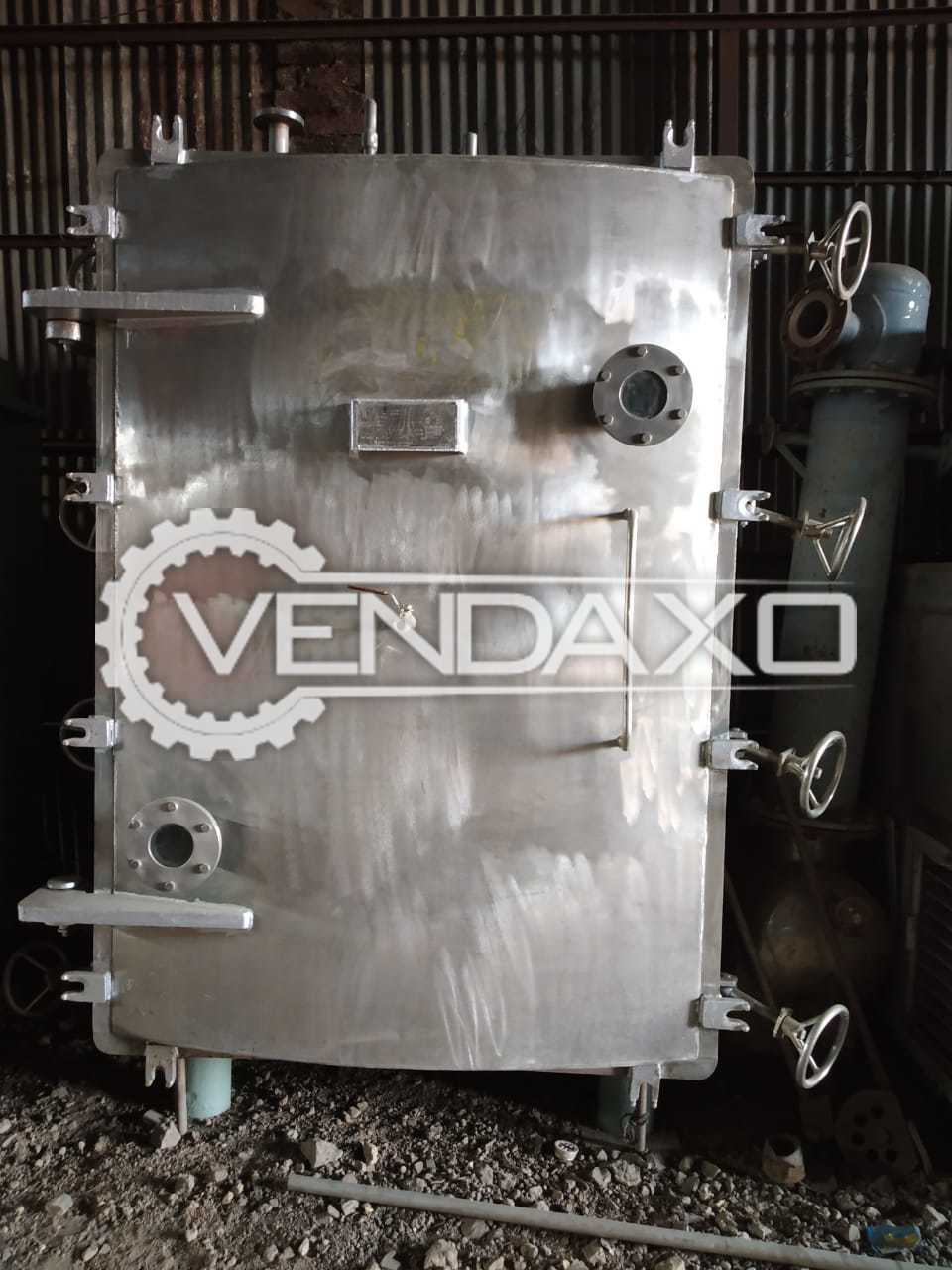 Vacuum Tray Dryer (VTD) - 48 Tray, GMP Model