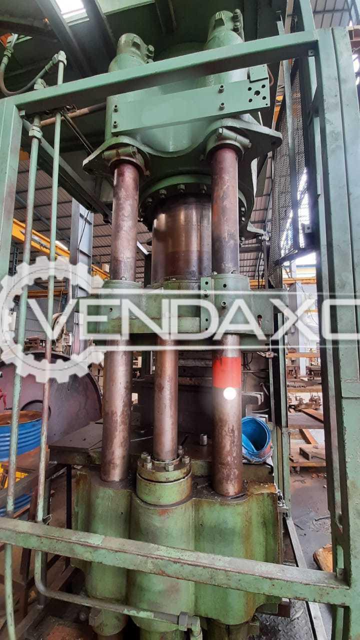 Bradley & Turton Hydraulic Power Press - 500 Ton