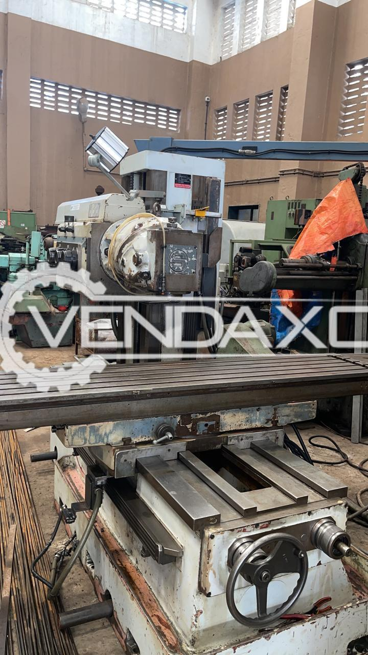 Secmu Bed Type Milling Machine - Bed Size - 2000 x 400 mm