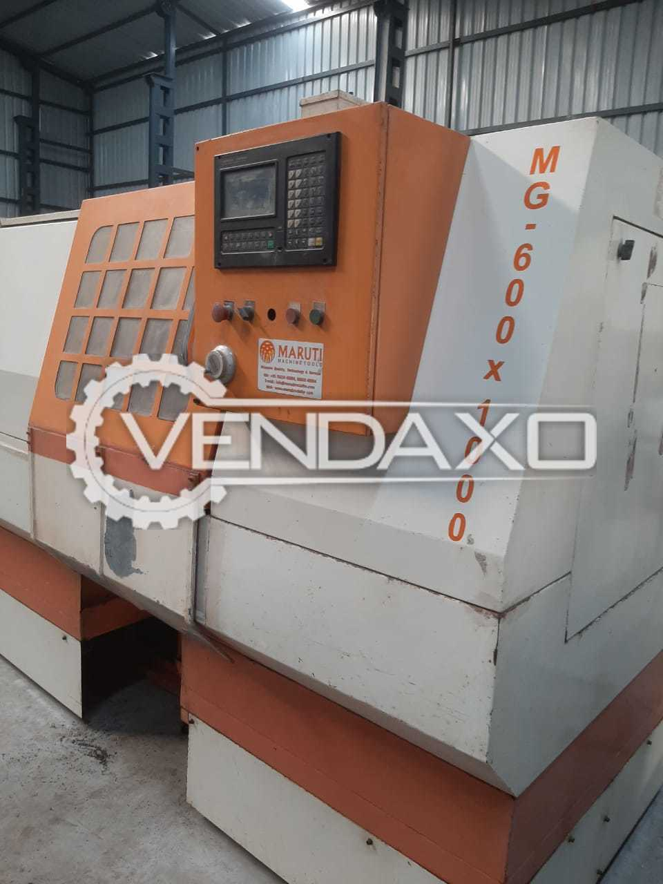 Maruti CNC Turning Lathe Machine - Bed Length - 3000 mm