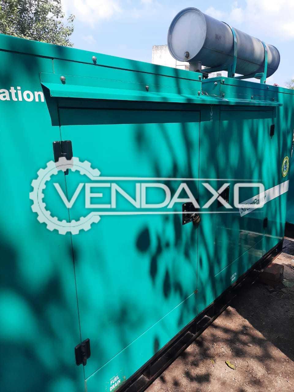 Cummins Sudhir CJ62.5D5P Diesel Generator - 62.5 Kva, 2018 Model