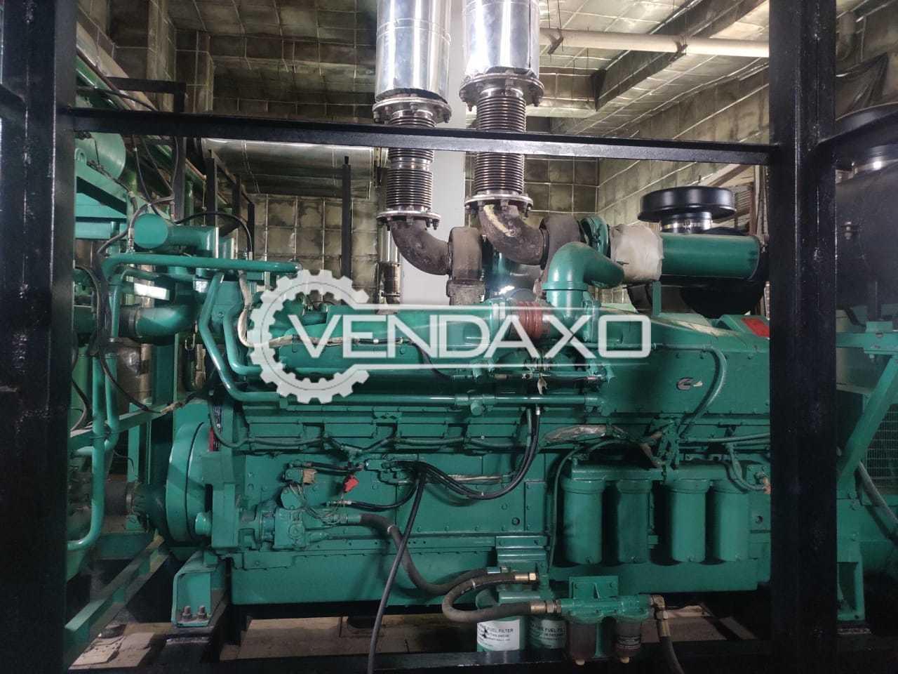 Cummins Sudhir Diesel Generator - 1250 Kva, 2013 Model