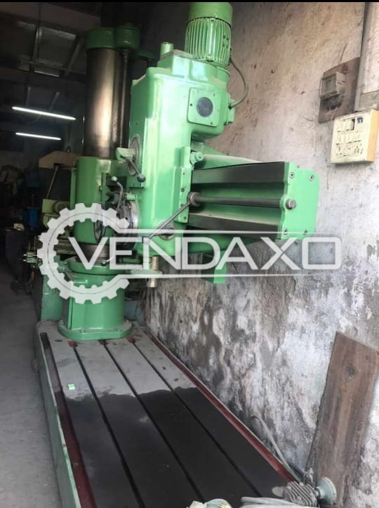 HMT RM65 Radial Drill Machine - 50 to 60 mm