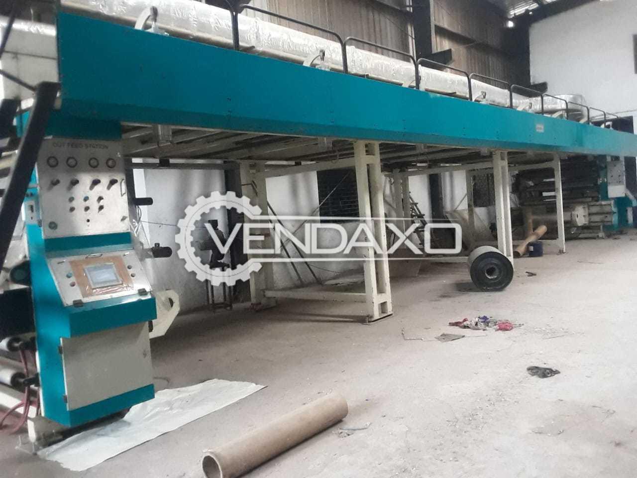 FG-B1000 Dry Lamination Machine - Length - 40 Feet, 2021 Model
