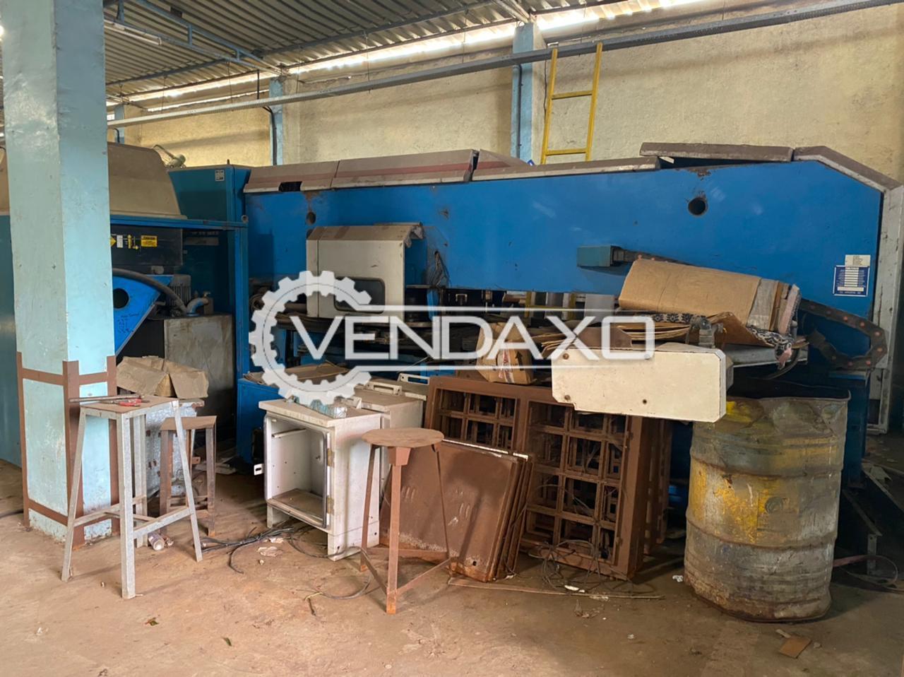 FinnPower F5-20FB CNC Turret Punch Press Machine - 33 Ton